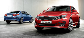 Kia Optima Features Sport Package