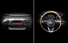 Kia Sorento Interior Climate control and Heated steering wheel