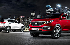 Kia Sportage EXterior The end of the day And some things are just beginning